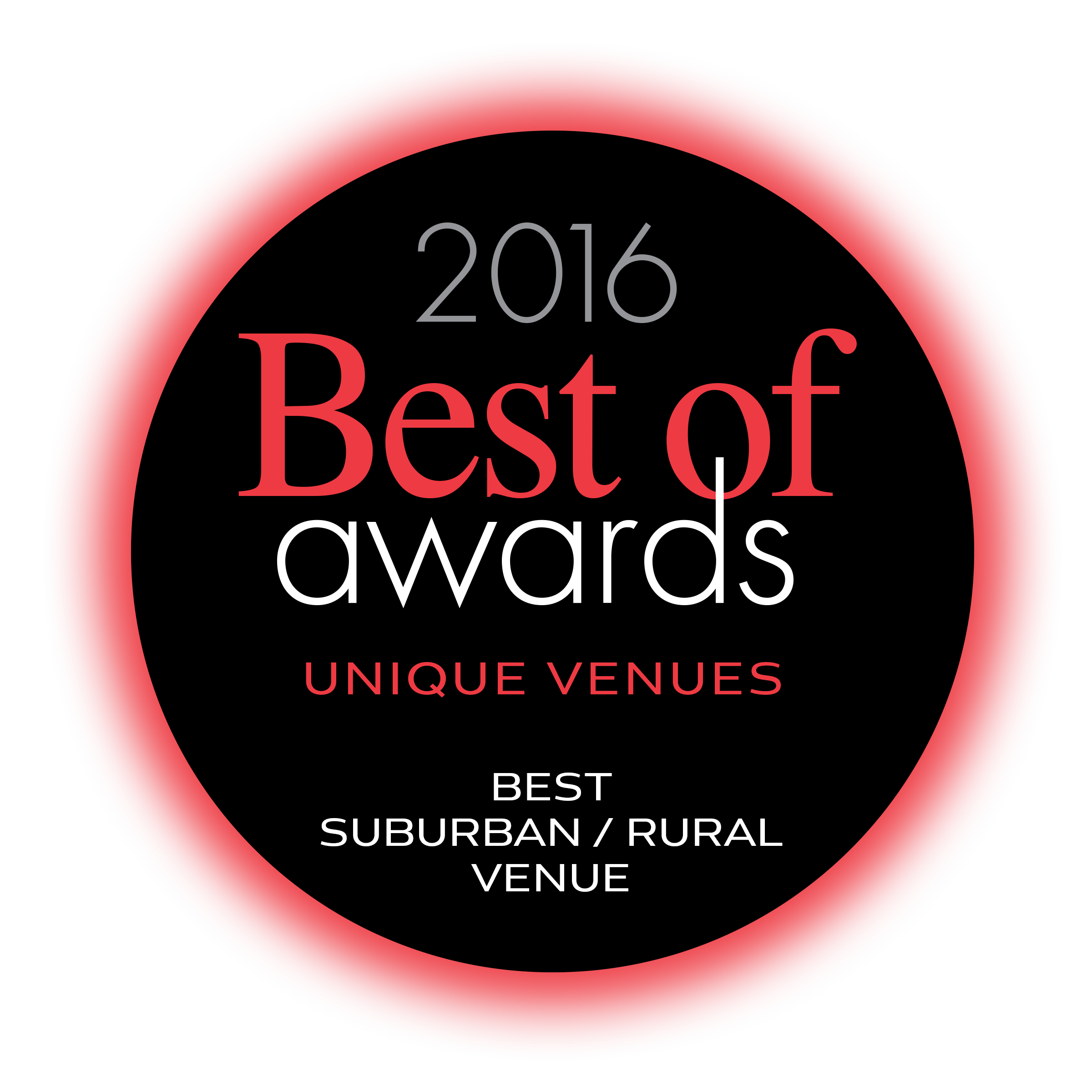 Unique Vendues Best of Awards 2016 Rural Venue