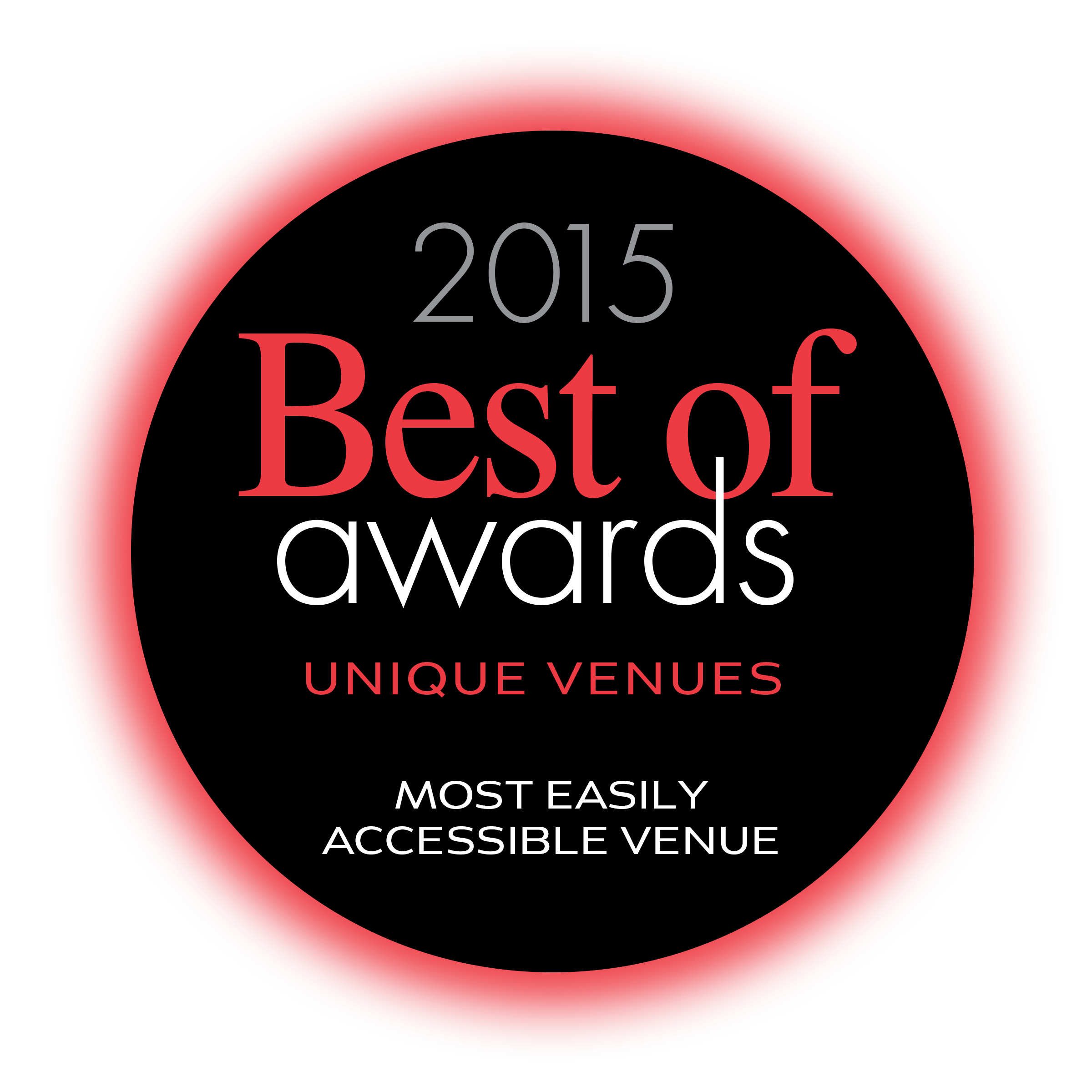 Unique Vendues Best of Awards 2015 Most Easily Accessible Venue